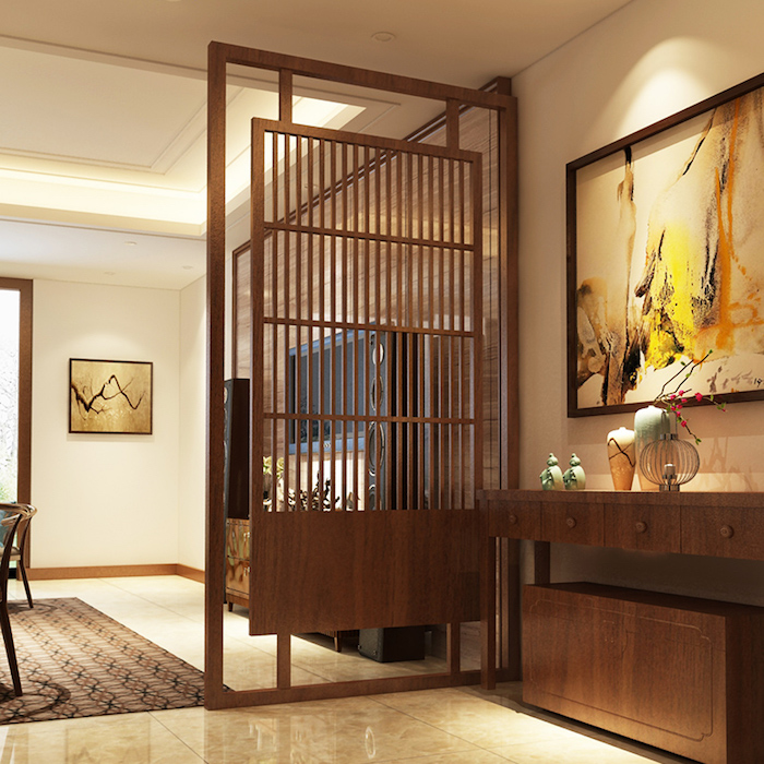 claustra int rieur la s paration venue du jardin obsigen. Black Bedroom Furniture Sets. Home Design Ideas