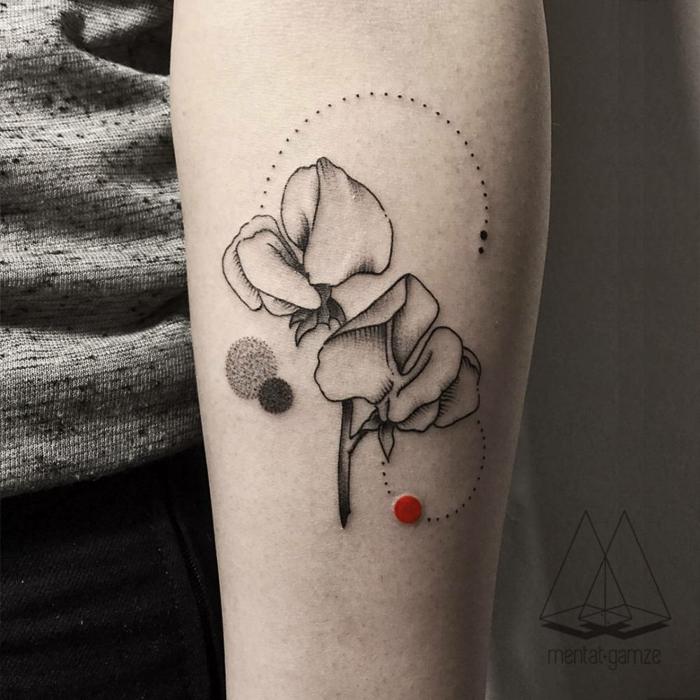 Fleur Graphique Tatouage