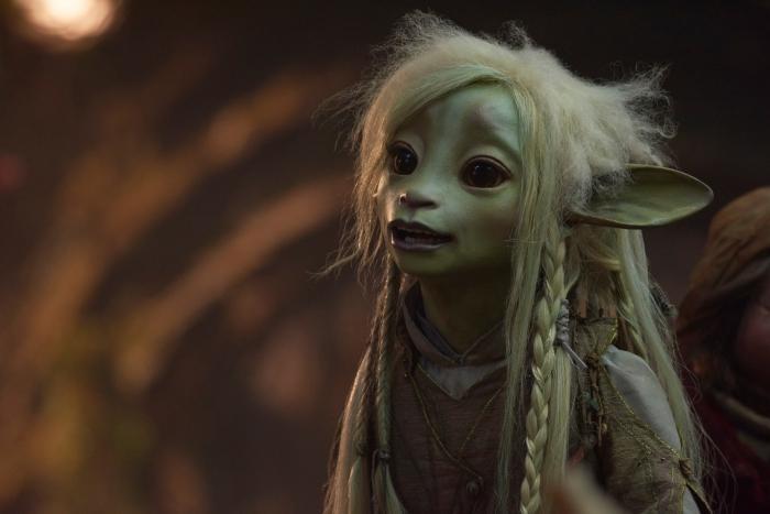 image Netflix personnage fantasy, photo Gelfling Deet de Jim Henson, personnage Netflix de 2019
