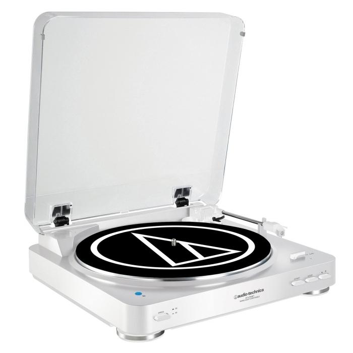 idée cadeau homme noel à trouver sur amazone, tourne-disque vinyle automatique avec usb et un plateau en aluminium