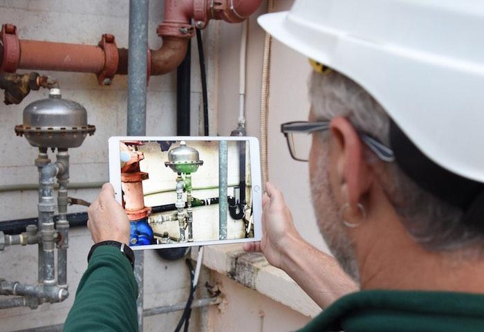 illustration du détecteur d'odeurs intelligent pour les villes et usines NanoScent VOC Watch