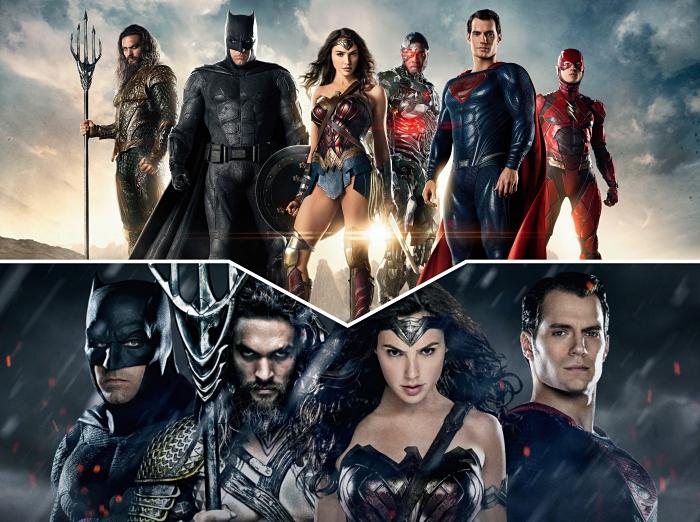 Jason Momoa joue Aquaman, casting Justice League avec Gal Gadot et Henry Cavill, acteurs du film Batman v Superman : L'Aube de la Justice