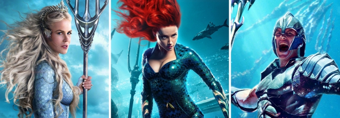 acteurs du film Aquaman, casting complet d'Aquaman 2018, Nicole Kidman joue le rôle de la Reine Atlanna dans Aquaman