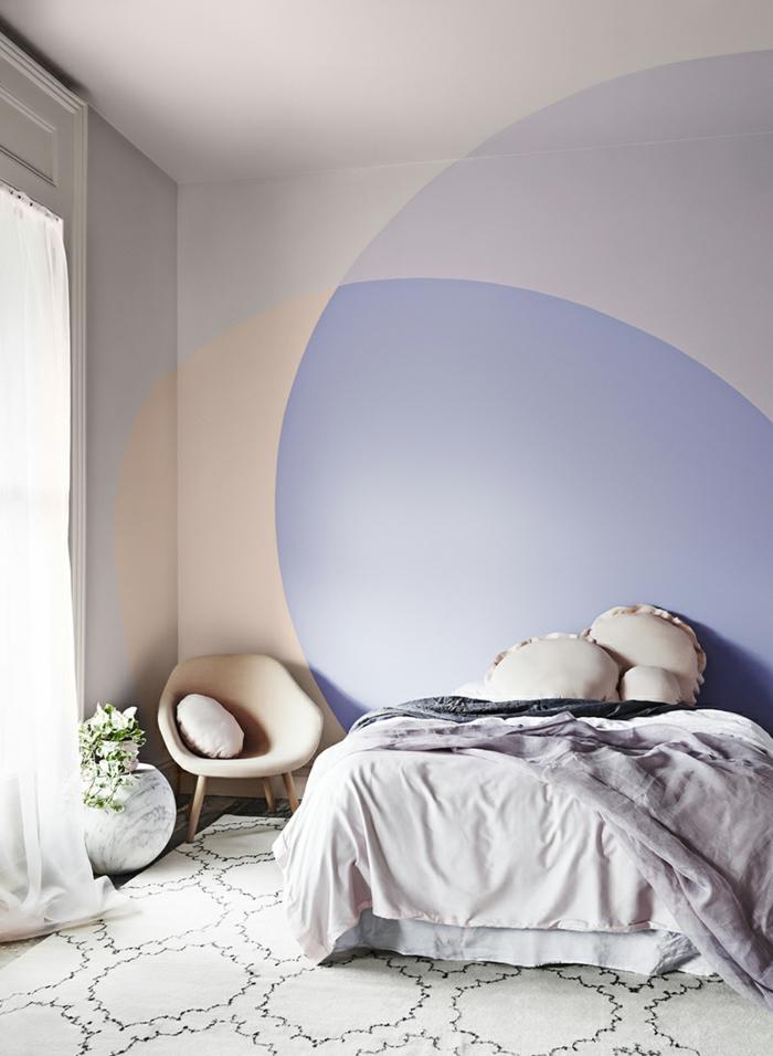 1001 + idées captivantes de peinture chambre adulte en 2 couleurs