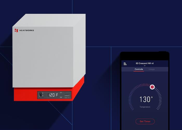 image du chauffe-eau électrique intelligent sans réservoir de Heatworks Model 3 présenté au ces 2019