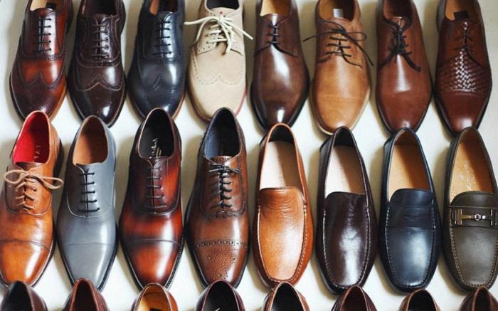 choisir ses chaussures de mariage, chaussure habillé homme plusieurs couleurs, mocassins, derbies, brogues
