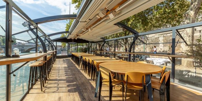 restaurant avec terrasse couverte pour organiser un évènement professionnel ou privé, idée restaurant pour teambuilding à Paris