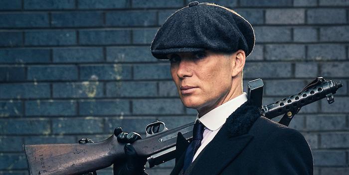 photo de cillian murphy en tommy shelby dans peaky blinders nouvelle saison 5 sur bbc 1 netflix