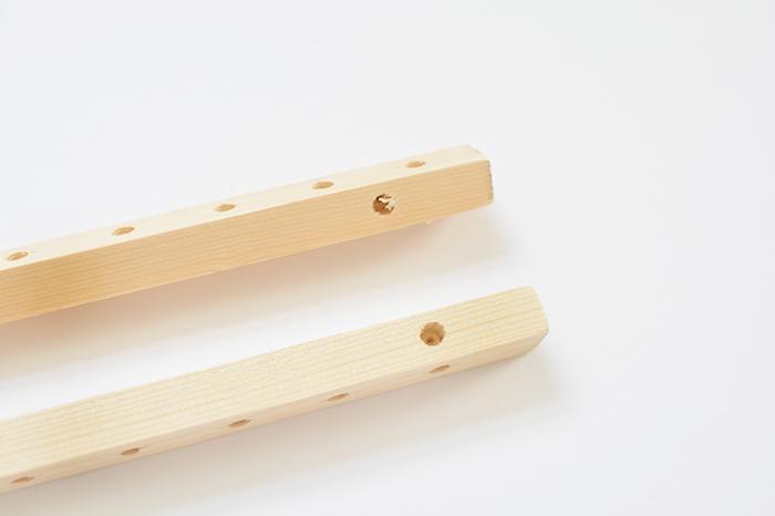 tutoriel bricolage facile pour comment fabriquer un porte vinyles ou petit rangement pour vinyls en bois