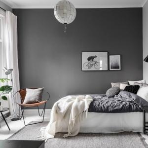 comment peindre une chambre en deux couleurs decoration chambre style minimaliste peinture grise meubles scandinave bois et metal