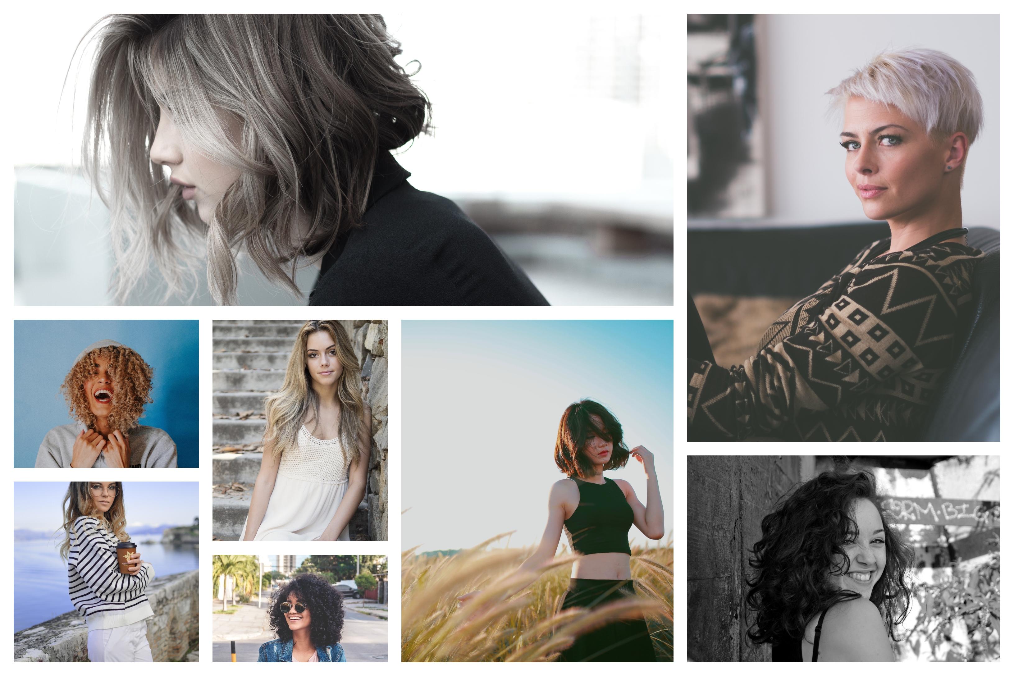 coupe femme mi long, coupe carré dégradé choix de coiffure 2019 tendances, belle chevelure, cheveux courts