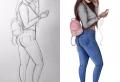 Apprendre à réaliser un dessin swag – la fille swag dans toute sa splendeur