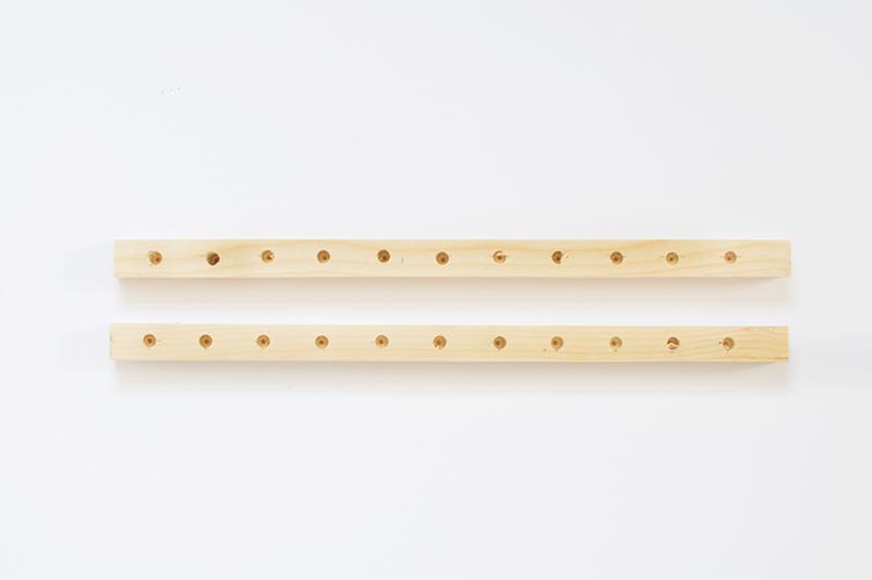 comment fabriquer un petit meuble vinyle pour ranger ses disques et les poser sur un buffet