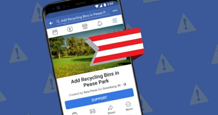 dans les actualités technews, facebook lance une nouvelle fonction de pétition appelée action communautaire