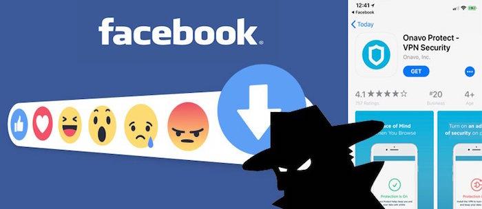 facebook research paie des ados pour les espionner via des programmes de tests comme onavo protect, service vpn interdit par apple