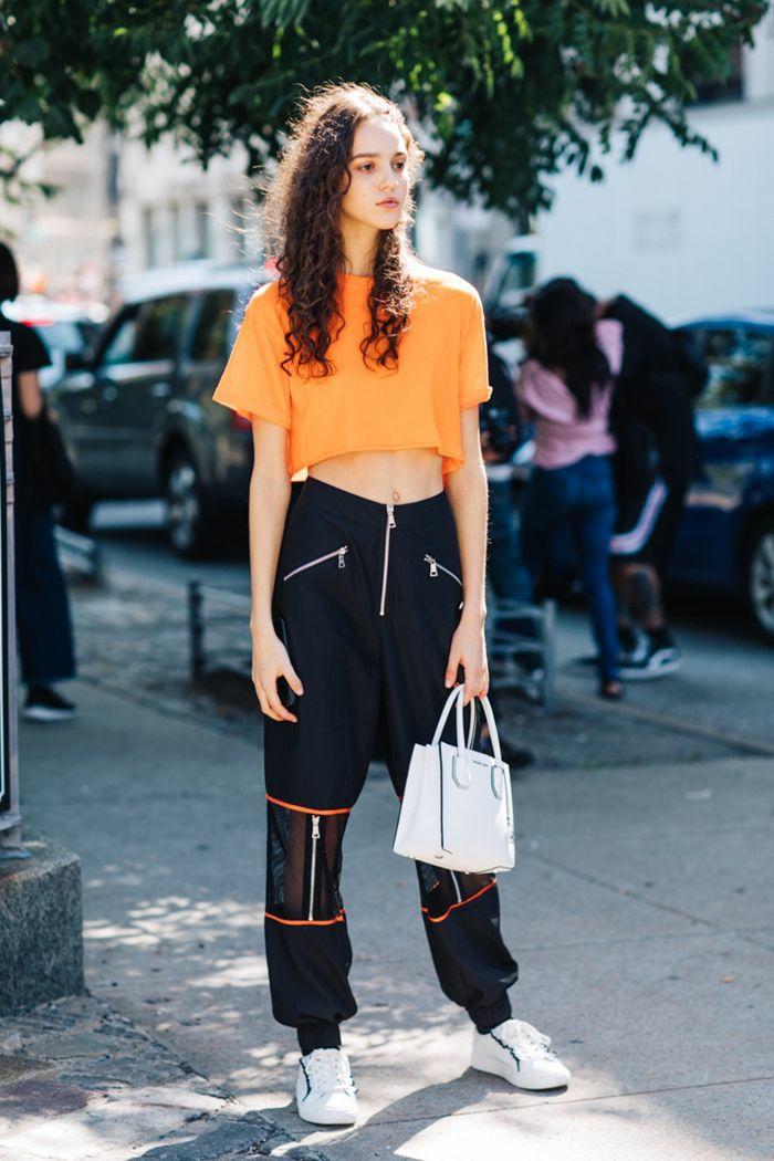 tenue streetwear fille