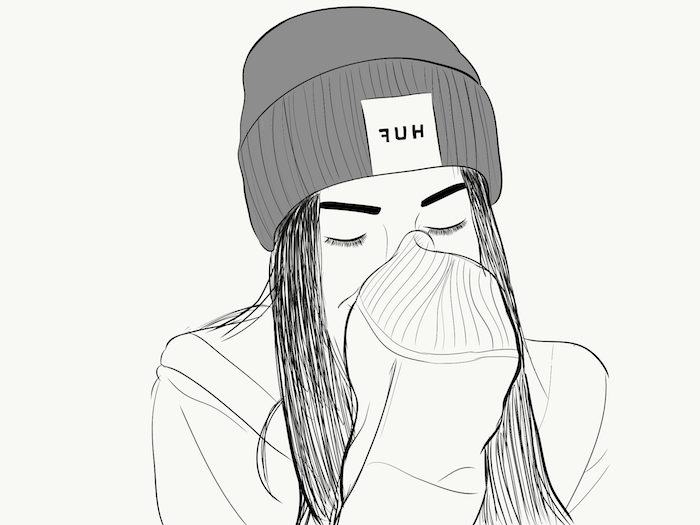 Dessin Fille Swag Facile A Faire