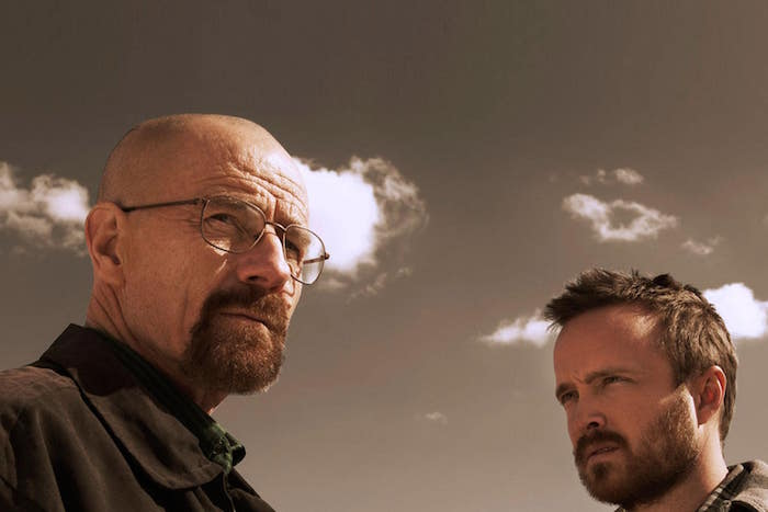 walter white et jesse pinkman dans la série breaking bad bientôt au ciné dans le film greenbrier