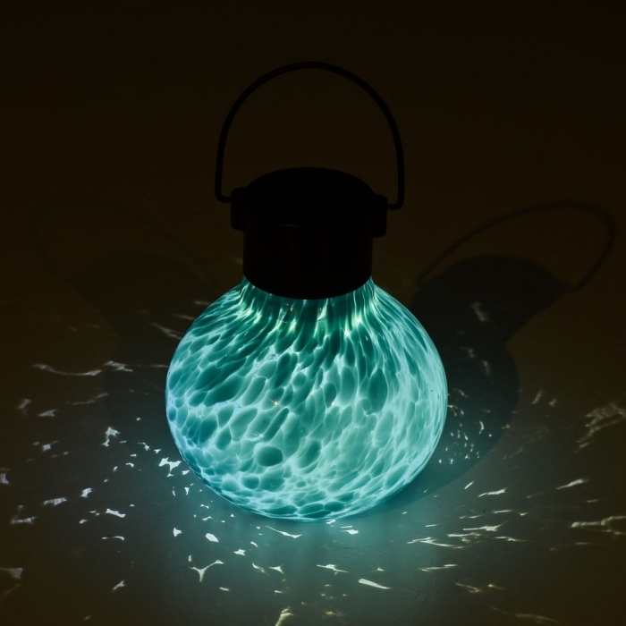 objet Saint Valentin original, cadeau romantique pour femme, modèle de lampe en verre solaire, idée saint valentin