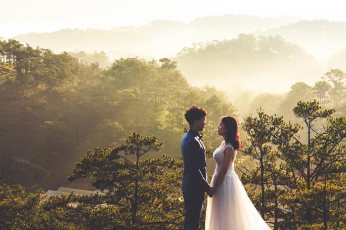 Montagne avec belle vue, bonne saint valentin mon amour, image st valentin, belle photo pour son amour