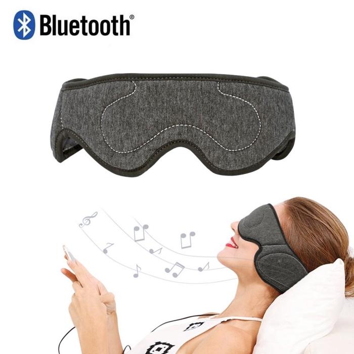 accessoire high-tech pour femme, idée originale saint valentin, modèle de masque visage Bluetooth, casque sommeil intelligent