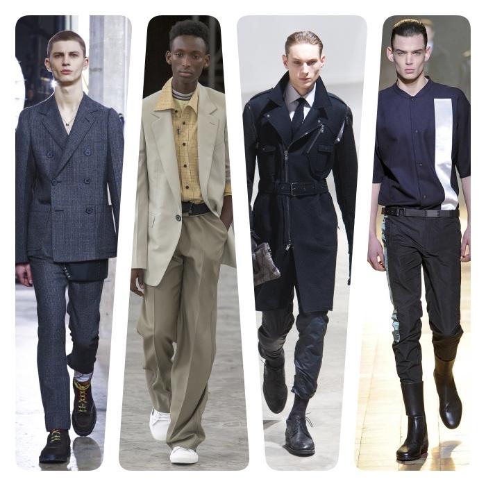 collections lanvin homme, style casual chic homme, pantalon, chemise, veste et manteau, nouvelle direction de lanvin