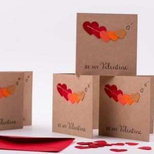 Carte St Valentin à faire soi-même - petit geste d'affection pour surprendre ceux qu'on aime