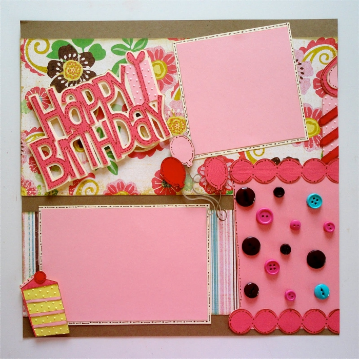diy carte anniversaire pour enfant, activité manuelle adulte, technique art de papier facile, modèle carte pour fille