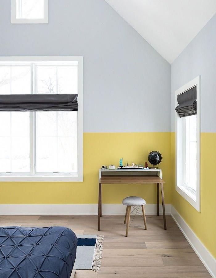 1001 id es captivantes de peinture chambre adulte en 2 - Peinture mur chambre ...