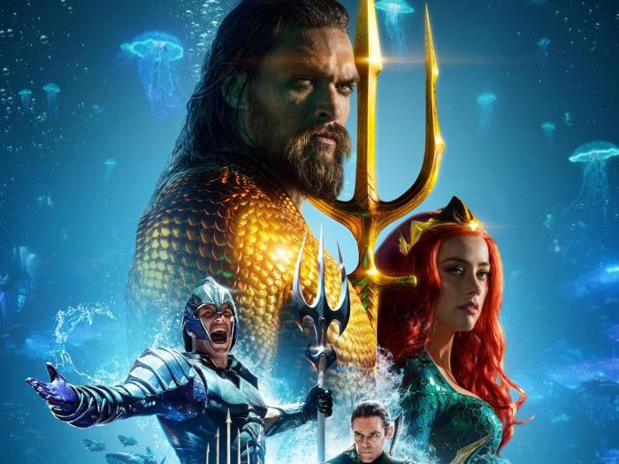 le casting du film Aquaman 2018, actrice Amber Heard films, Patrick Wilson joue Orm dans Aquaman, fond d'écran personnages d'Aquaman