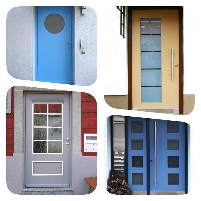 idées de porte entree vitree, modeles de portes ajourées fabriquées par fenetre 24, decoration de maison belle facade