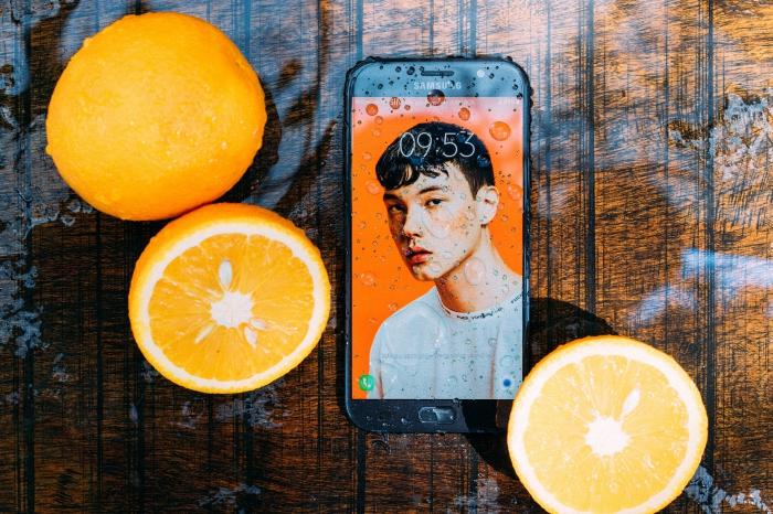 smartphone sur Android, Samsun Galaxy A8s édition FE lancement, caractéristiques portable avec écran Infinity-O