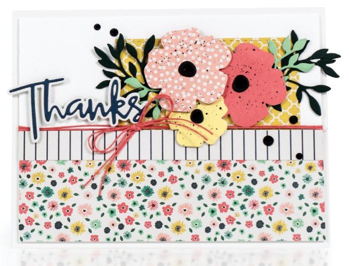 art de papier populaire, technique de pliage papier facile, exemple fabrication carte d'anniversaire facile avec papier artisanal