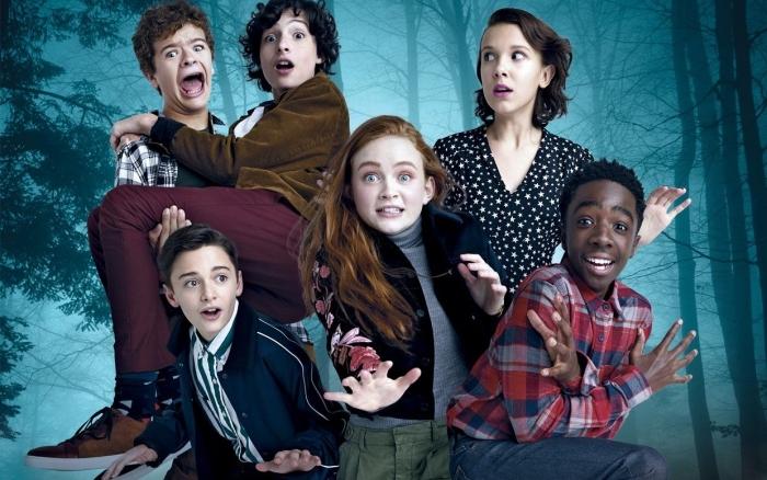 acteurs Stranger Things, casting saison 3 de Stranger Things, affiche acteurs de Stranger Things, photos stars Stranger Things