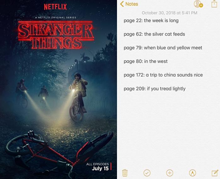 messages codés du livre officiel Stranger Things : Worlds Turned Upside Down, teaser saison 3 de Stranger Things