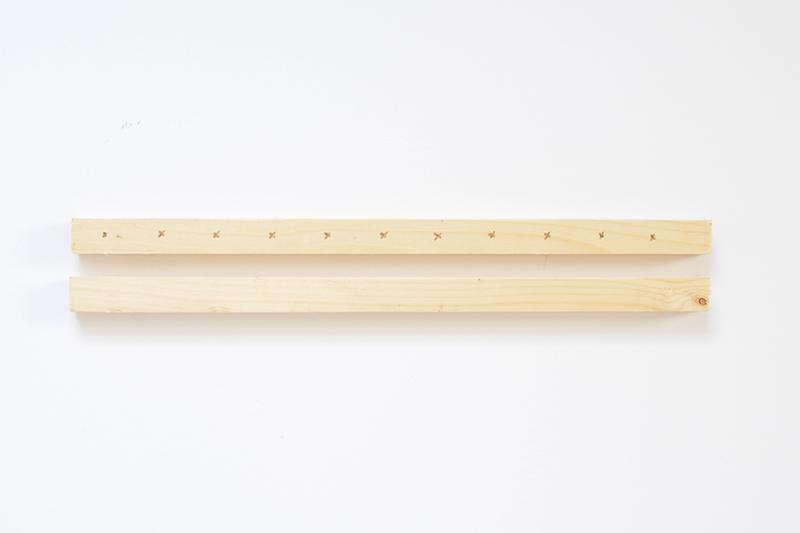 tuto support diy de disques vinyles en bois facile pratique pas cher pour rangement vinyle