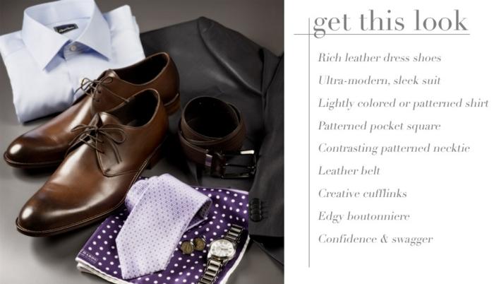 chaussures homme marron, idée tenue pour mariage homme, chaussure homme pour mariage