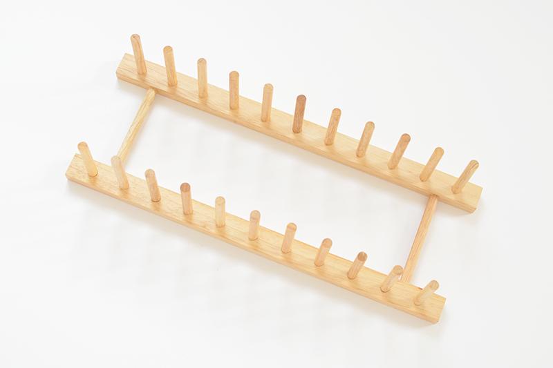 petit support à vinyle diy fait en bois facile et pas cher pour poser disques vinyles