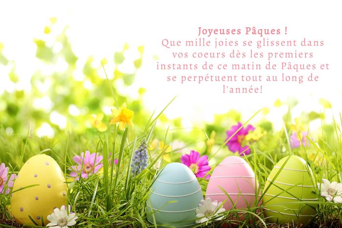 Photo joyeuses paques, humour image de pâques coloré, representation visuelle de mes voeux