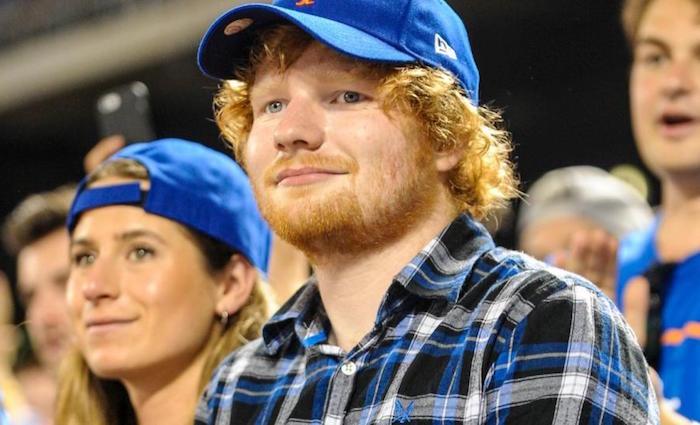 le chanteur anglais Ed Sheeran et sa fiancée Cherry Seaborn viennent de marier discrètement dans son domaine