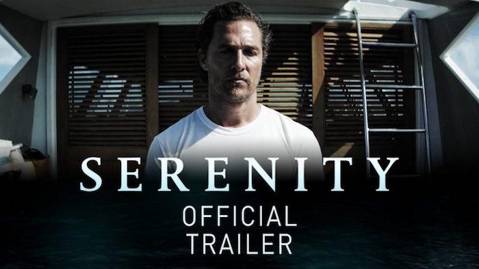 illustration de McConaughey dans le film serenity 2019 au succès plus que mitigé
