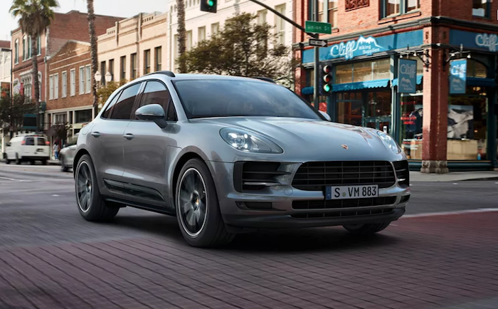 Photo du Porsche Macan qui sera commercialisé uniquement en version électrique dans sa nouvelle version