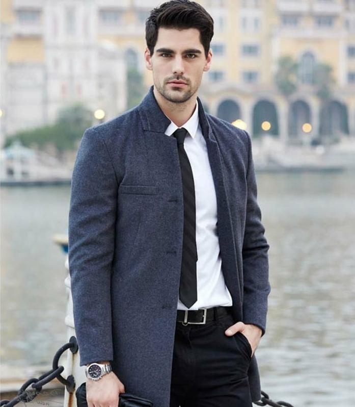 tendance de mode élégance décontracté pour homme au bureau, look professionnel homme avec chemise et pantalon