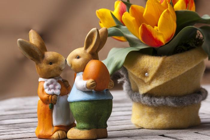 Adorable photo joyeuses paques, images dessin de paques fond d ecran paques lapins embrasse