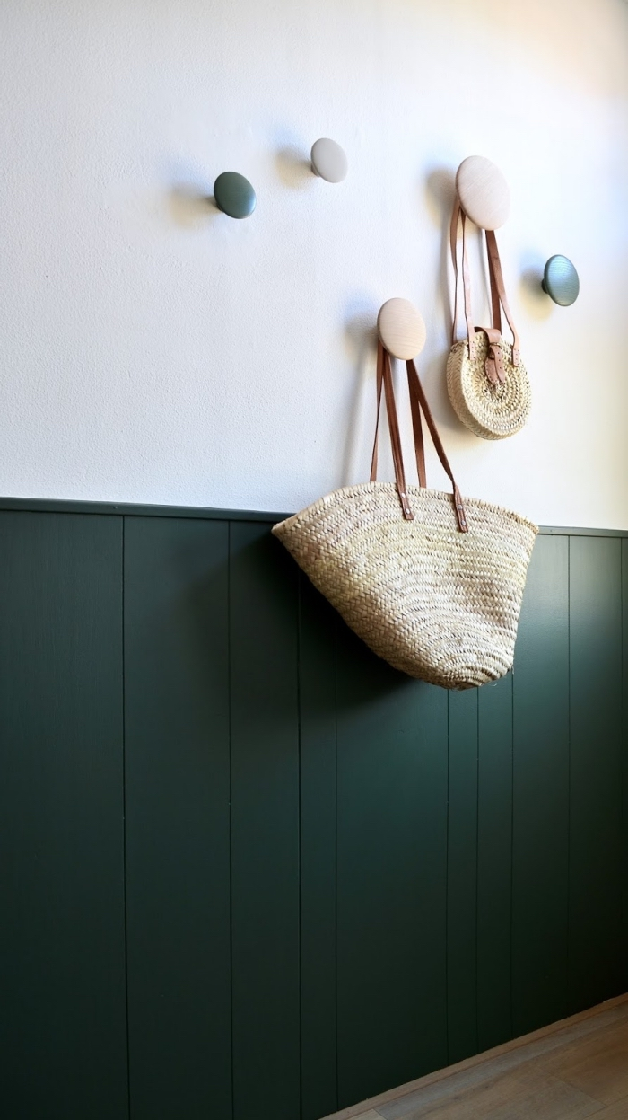 Soubassement Couloir En Bois ▷ 1001 + idées pour habiller le bas des murs d'un