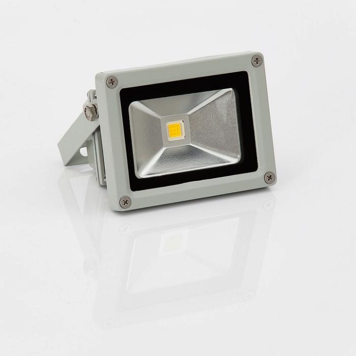 un projecteur led pour illuminer les espaces extérieurs avec détecteur de mouvement crépusculaire, système d'éclairage pratiques pour l'extérieur