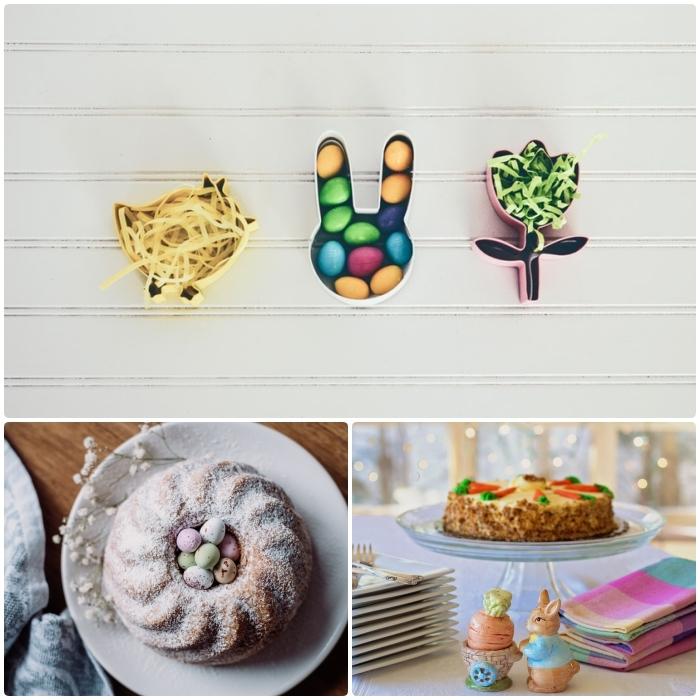 quel dessert préparer pour un menu de pâques facile et gourmand, idées de recettes originales pour un gâteau festif sur le thème de pâques