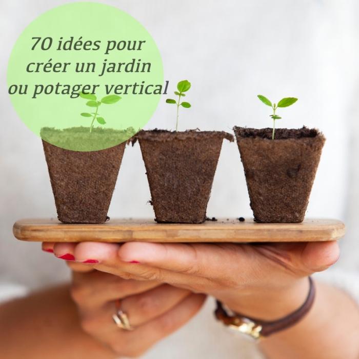 idées pour créer son propre jardin ou potager vertical, culture verticale