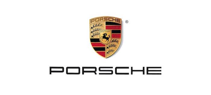 logo Porsche pour illustrer article sur l'annonce d'une nouvelle génération de Porsche Macan uniquement électrique