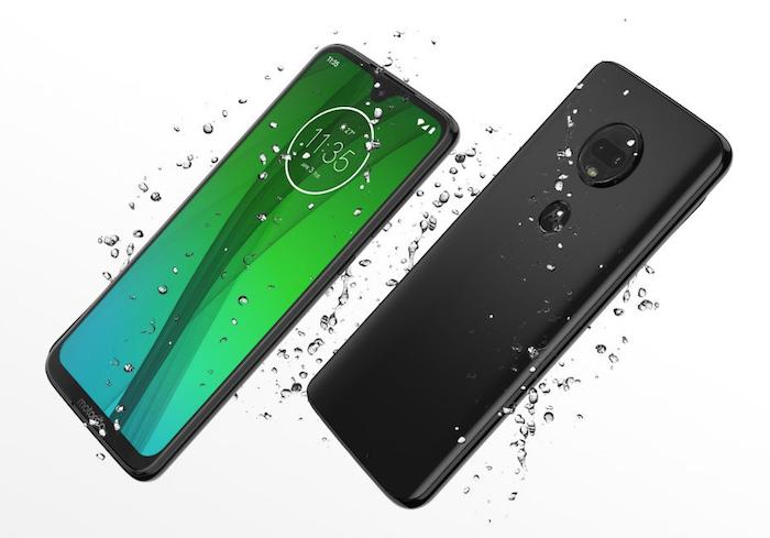 Photo nouveau mobile Motorola Moto G7 2019 actualités smartphones nouvelle gamme de téléphones mobiles